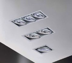 Square recessed ceiling halogen spotlight by baulmann leuchten square recessed ceiling halogen spotlights by baulmann leuchten aloadofball Gallery