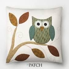 This Pin was discovered by mer Quilt Patterns Free, Applique Patterns, Applique Designs, Quilting Projects, Quilting Designs, Sewing Projects, Crochet Cushions, Pin Cushions, Owl Cushion