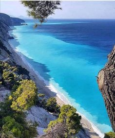 Lefkada, Greece has the most beautiful beaches in all Greece. It also has beautiful waterfalls and vineyards photo b Beautiful Waterfalls, Most Beautiful Beaches, Beautiful Places, Beautiful Sunset, Places Around The World, Travel Around The World, Around The Worlds, Purpose Of Travel, Destination Voyage