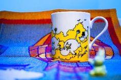 Todays Moomin mug is from Japanese manufacturer Yamaka.