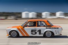 1969 Datsun 510 Race Car in Action - Panning race car photography from Coronado Speed Festival from the RallyWays Automotive Photography Portfolio. #rallyways