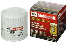 Motorcraft FL820S Silicone Valve Oil Filter - Oil filter high quality, original equipment replacement part, direct fit. Helps protect against engine wear by screening out abrasives, such as carbon, sand, dust and bits of metal before they can get into your oil.