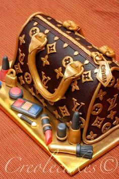 Louis Vuitton Cake creative birthday cake idea Gucci pinataGlamLuxePartyDecor: FREE SHIPPING! Creative, Unique, Personalized Glamorous Designer Party Decorations and keepsakes. Theme party Decor packages. 1st Birthday parties, pink princess tutu, weddings, christenings, holiday celebration, bridal shower, babyshower, bachelorette, Super Bowl, etc. #jacquelineK