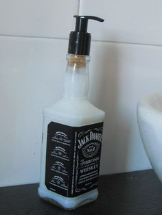 Jack Daniels Soap Dispenser  - how to make it.