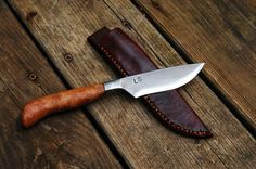 Hand Forged Belt or Hunting Knife by BloodrootBlades on Etsy, $225.00