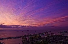 #Barcelona #Bcn #puerto #port #amanecer #Bpremium