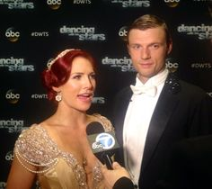 For Most Memorable Year # on #DWTS, @nickcarter says he'll share something most people don't know. @SharnaBurgess