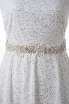 ILDA - wedding dress sash