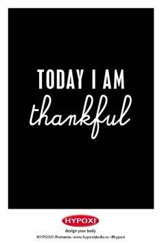 Today I'm thankful :) #Hypoxi #HealthySkin