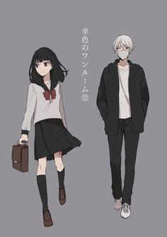 Anime Couples, Cute Couples, Image Fun, Body Poses, Manga Boy, Shoujo, Character Art, Anime Art, Romance