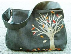The Tree Bag free tutorial  This is so adorable.  I want one.  I wonder how hard it is to make.