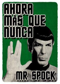 Mr Spock!!!