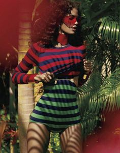 'Paradise City' Cris Urena For Elle Magazine US, February2013ShotBy KT Auleta