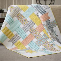 Ribbon Box Quilt | by | Cloud9 Fabrics