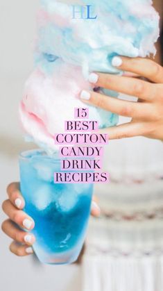 15 Best Cotton Candy Recipes with Alcohol - Healthy everydaylife Cotton Candy Martini, Cotton Candy Drinks, Cotton Candy Cakes, Cotton Candy Champagne, Cotton Candy Party, Cotton Candy Recipes, Cotton Candy Lemonade Recipe, Candy Alcohol Drinks, Alcohol Drink Recipes