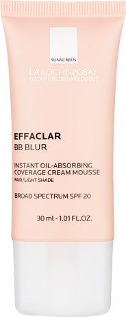 La Roche-Posay Effaclar BB Blur - Instant Oil-Absorbing Coverage Cream Mousse 30ml Fair/Light £14