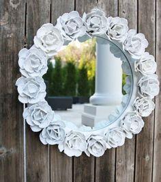 Roses Mirror white