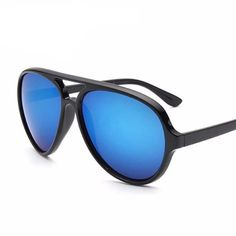 Euro Driving Sunglasses Mirrored Leopard Shades