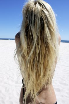 Love the length and tones of blonde/ brown