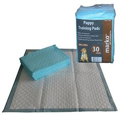 30 Puppy Training Pads House Toilet Dog Training Absorbent Wee Pad Marko Pet Accessories http://www.amazon.co.uk/dp/B0080NEJ6K/ref=cm_sw_r_pi_dp_SDX8vb0FV2PYJ