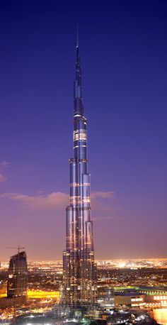 Tallest Building in The World: Burj Khalifa; Height: 828 m (2,717 ft), Floors: 163, Cost Of Project: $1.5 Billion
