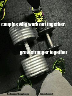 Couples who work out together
