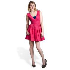 Raquelle Hot Pink Dress