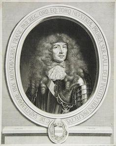 Messire Charles de Sainte-Maure, 2ème. Marquis puis 1er. Duc de Montausier (1610-1690), Maréchal-de-Camp des Armées, Chevalier des Ordres du Roi, Gouverneur de Saintonge et d'Angoumois.