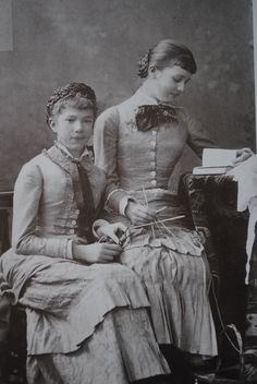 Marie Valerie and her cousin, Aglae.