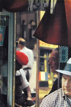 1950-60s Color Photographs by Saul Leiter