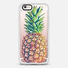 Single Watercolor Pineapple