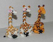 Items similar to Rainbow Loom Giraffes! on Etsy