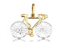 "Zlatý prívesok,,Road bike"" cestný bicykel Road Bike, Ale, Ceiling Lights, Jewellery, Jewels, Road Racer Bike, Ale Beer, Schmuck, Outdoor Ceiling Lights"