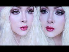 Kawaii Doll Makeup Tutorial - How to make your eyes look bigger • JackyOhhh - YouTube