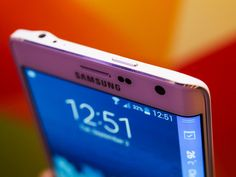 Mobile World Congress 2015 - Samsung Galaxy S6 with edge display - CNET