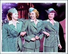 "The Andrews Sisters In ""Hollywood Version"" wac Uniforms (1942)"