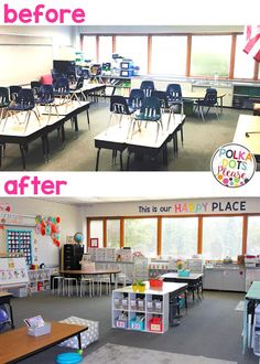 Flexible Seating 5 Secrets for Success Flexible seating classroom makeover with decor and organization tips The post Flexible Seating 5 Secrets for Success appeared first on School Diy. First Grade Classroom, New Classroom, Classroom Design, Kindergarten Classroom Layout, Year 1 Classroom Layout, Classroom Reading Nook, Classroom Color Scheme, Elementary Classroom Themes, Art Classroom Decor