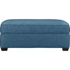 Davis Storage Ottoman in Ottomans & Cubes | Crate and Barrel