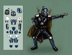 Star Wars Planets, Star Wars Rpg, Star Wars Fan Art, Mandalorian Costume, Mandalorian Armor, Star Wars Characters Pictures, Star Wars Images, Star Wars Bounty Hunter, Star Wars Canon