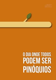 #lie #pinoquio #graphic #design #orange