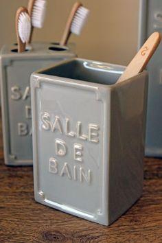 Salle de Bain Bathroom Accessories - Storage Cup WAS 5 99 NOW 4