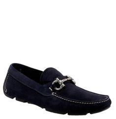 Salvatore Ferragamo 'parigi' Moccasin In Dusk Royal Suede Moccasins Mens, Driving Moccasins, Driving Shoes, Loafer Shoes, Loafers Men, Men's Shoes, Dress Shoes, Shoes Style, Salvatore Ferragamo