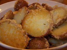 Stefanies Cooking Spot: Parmesan Crusted Baked Potatoes