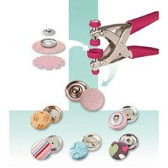 I-top button maker Sewing Lessons, Sewing Class, Sewing Tools, Sewing Basics, Love Sewing, Sewing Hacks, Sewing Tutorials, Sewing Projects, Sewing Patterns