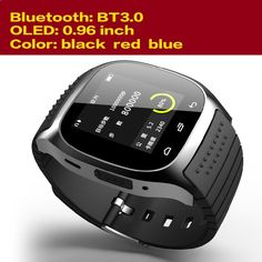 (52.99$) Watch more here - ai35s.worlditems.... - Best Smartwatch Bluetooth 4.0 WristWatch for Android Smart Phone Watch Brand Men 2015 Smartwatch With Pedometer/Anti lost