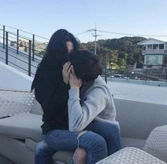 Image about couple in ulzzang by Wendy on We Heart It Cute Relationship Goals, Couple Relationship, Cute Relationships, Couple Ulzzang, Ulzzang Girl, Cute Korean, Korean Girl, Couple Goals Cuddling, Couple Aesthetic
