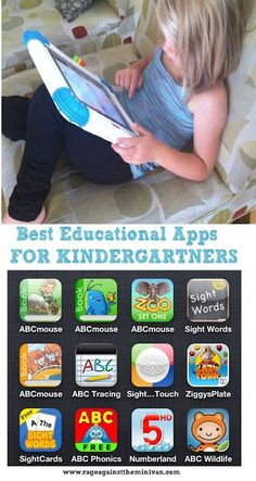 Rage Against the Minivan: best iphone/ipad apps for kindergarten-aged kids :)