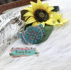 Floral Gemstone Bracelet – Ruby Rue Jewelry & Accessories