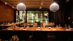 Queenstown restaurants / Rātā restaurant: It features a forest mural that dominates the dining room, making it feel more Middle-earth than middle of Queenstown.