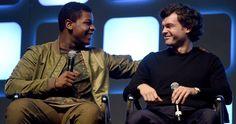 Star Wars Celebration Introduces New Han Solo Alden Ehrenreich -- Alden Ehrenreich makes his debut appearance at Star Wars Celebration to discuss playing the iconic Han Solo in a new spinoff. -- http://movieweb.com/han-solo-star-wars-celebration-alden-ehrenreich/